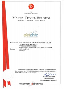 DEICHIC-MARKA-TESCIL-BELGESI